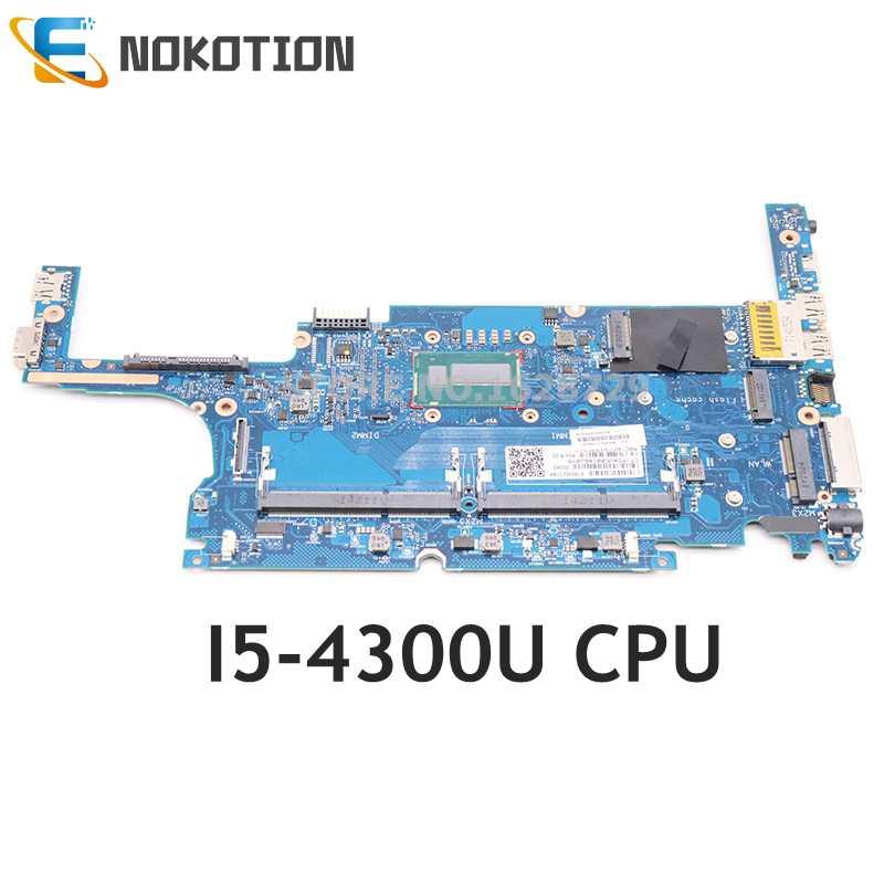 NOKOTION 817919-601 817919-001 6050A2560501-MB-A02 ل HP بي EliteBook 820 G1 اللوحة المحمول I5-4300U CPU DDR3L