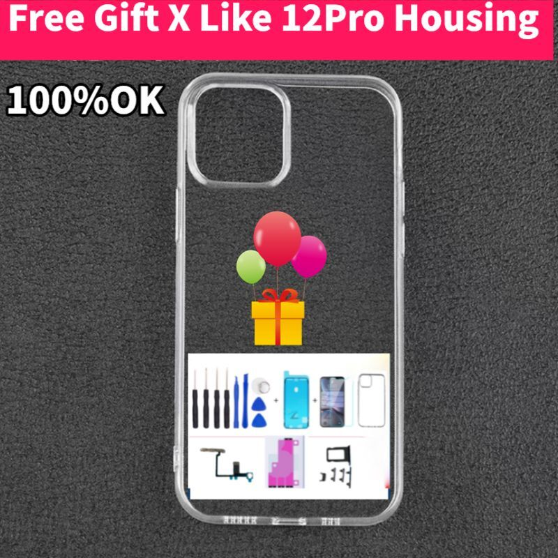 2021 New Housing for iPhone X Housing Like 12 Pro Housing ,High Quality iPhone X UP to 12 Pro Housing, Cable X into 12 Pro gift enlarge
