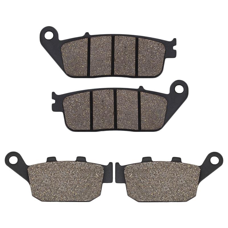 Motorcycle Front Rear brake pads for Honda CTX700 CTX700N NC700X Manual G Box NC750 NC750X 12-18 FMX650 XL600 VR VT Transalp