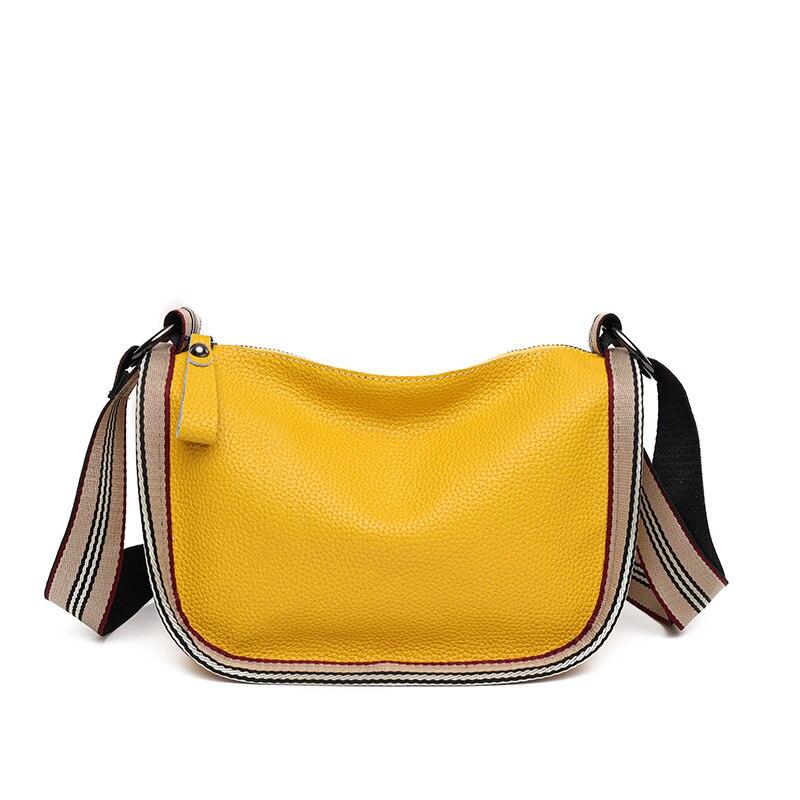 Bolsas de Ombro 100% de Couro Genuíno Bolsas Femininas Designer Letras Primeira Camada Feminina Moda Crossbody Tote Bags