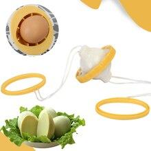 Egg Turner Home Kitchen Gadget Manual Egg Shaker Artifact Gold Egg Puller One Generation Wind Chime Egg Turner