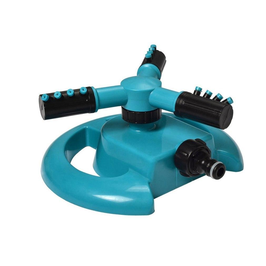 Automatische Garten Sprinkler Bewässerung Gras Rasen 360 Grad Kreis Rotierenden Wasser Sprinkler 3 Düsen 3 Arm Garten Rohr Schlauch