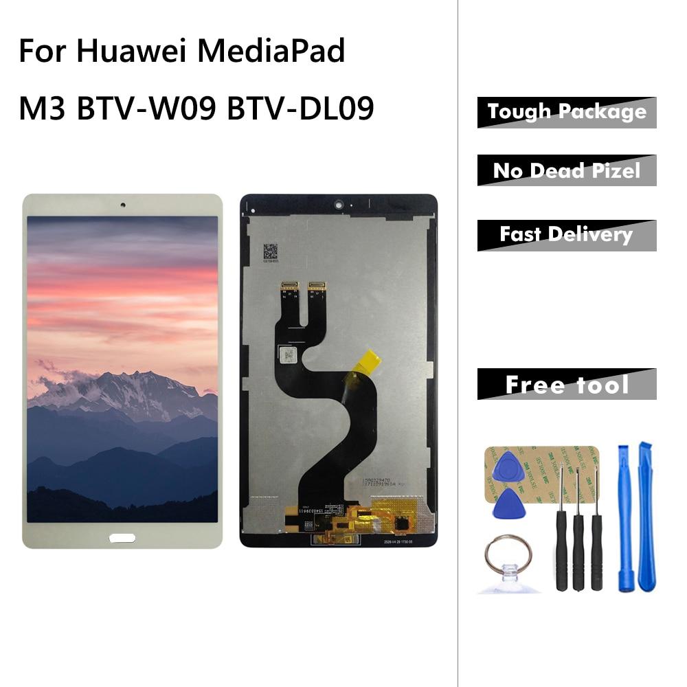 ЖК-дисплей для Huawei MediaPad M3 BTV-W09 BTV-DL09 ЖК-дисплей сенсорный экран дигитайзер сборка Замена для Huawei M3 с инструментами