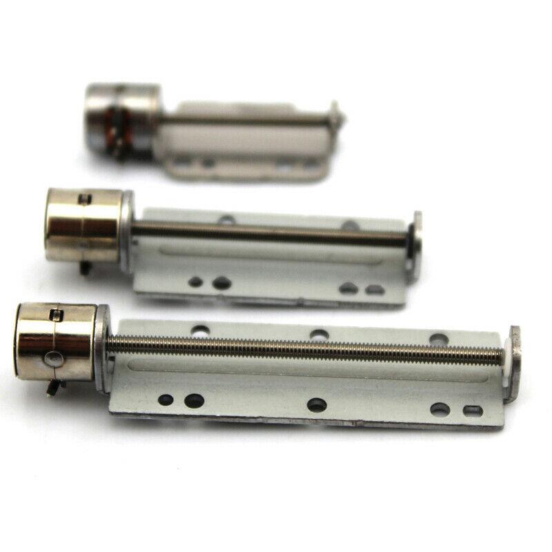 DC 5V Micro Mini tornillo de precisión Slide Stepper Motor de longitud eléctrica 30mm 40mm 2 fases 4 cables de largo actuador lineal 8mm modelo DIY