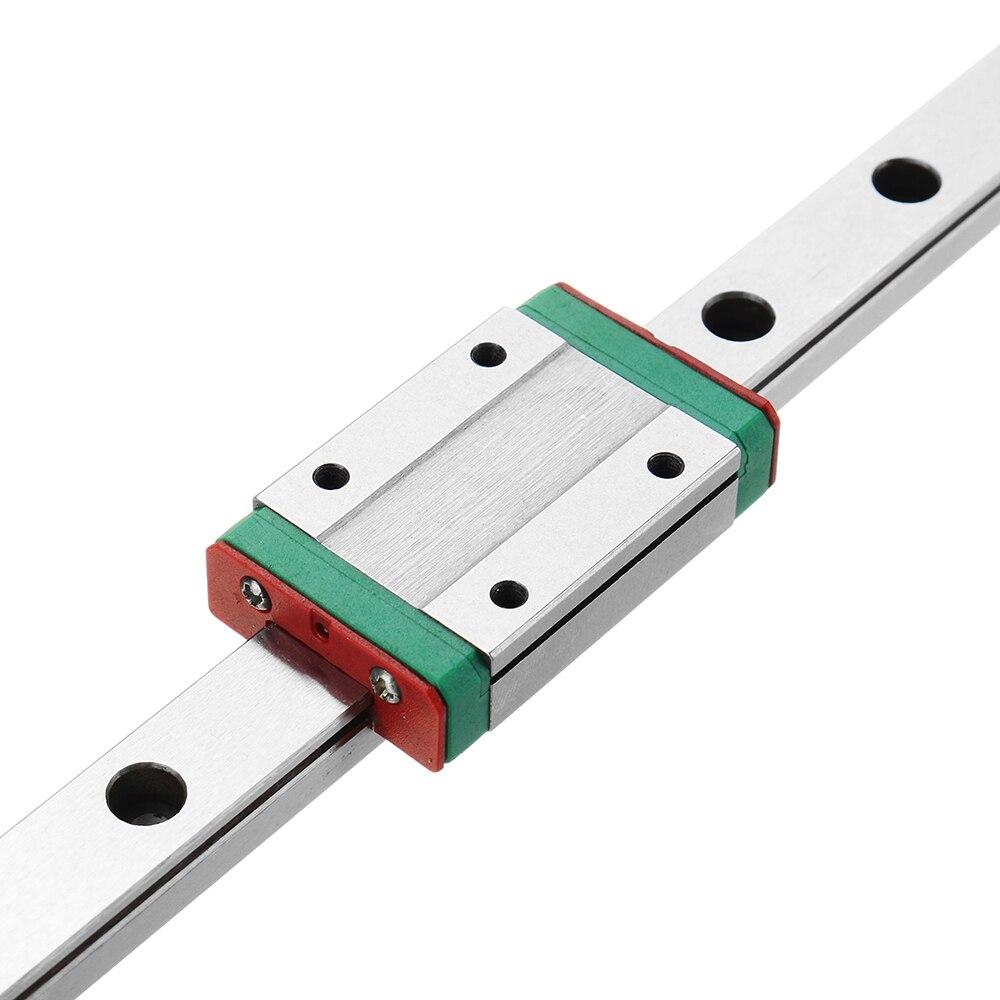 Guia linear do trilho de mgn12 1000mm com peças do cnc do bloco de guia deslizante linear de mgn12h