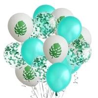 hawaii summer tropical party balloons luau hawaiian beach party balloons wedding birthday supplies jungle safari party globos