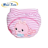 mother kids baby bare cloth diapers baby boys girls washable diapers reusable diapers nappies cotton training panties diapers