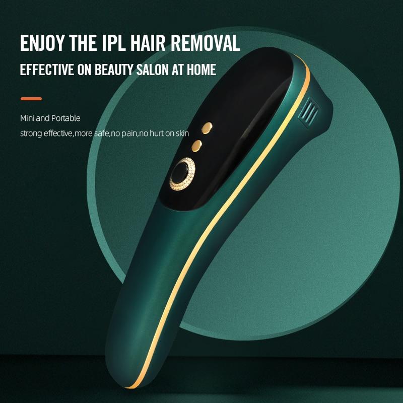Dckloer Painless Hair Removal Machine Laser Epilator  IPL Hair Removal Bikini Eletrical Hair Remover Depilador 990000 Flashes enlarge