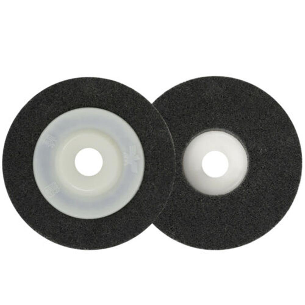 1 шт., полировальный диск из нейлонового волокна, 4 дюйма, твердость 9P, полировальные диски, полировальные диски, металл, нержавеющая сталь, де...