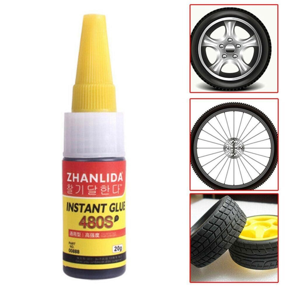 Клей для ремонта автомобильных шин 20 г, Уплотнители 480S, супер герметик, Ремонт автомобильной резины, фоторезины для авто, велосипеда, шин, уп...