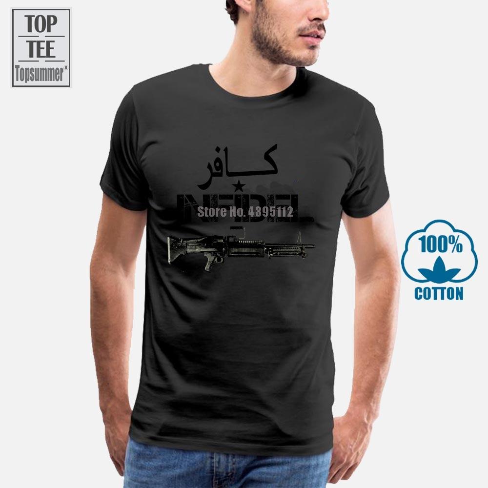 2018 moda de verano caliente militar camiseta Usmc ejército veterano guerra de Irak Afganistán camiseta