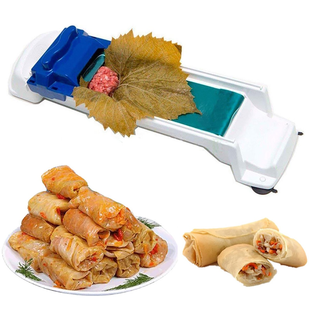 Creative Vegetable Meat Rolling Tool Stuffed Grape Cabbage Leaf Gadget Roller Machine For Turkish Dolma Sushi Kitchen tools