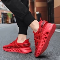 mens womens fashion breathable running shoes outdoor comfortable casual couples gym sneakers just soso shoes