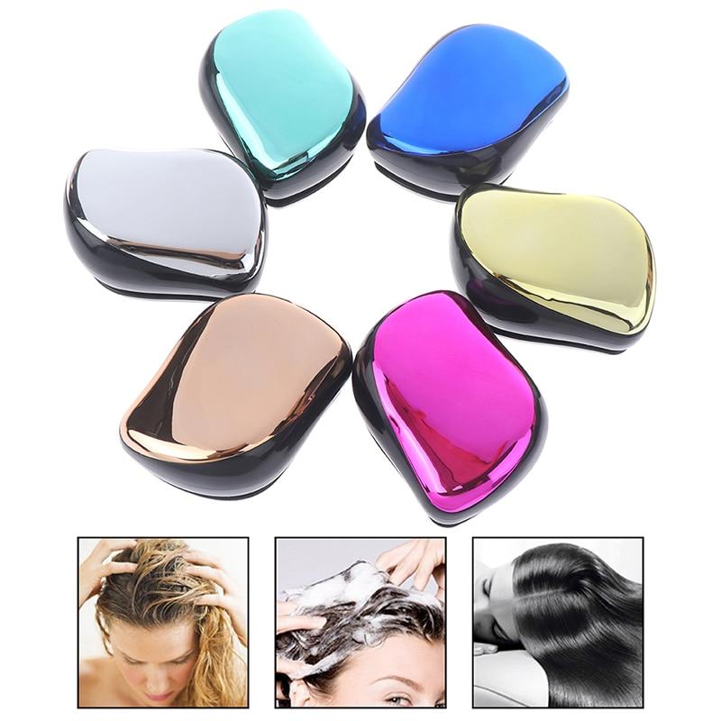 Cute Mini Massager Comb Detangle Comb Detangling Hair Brush Professional Salon Comb For Smoothing Hair No Tangle