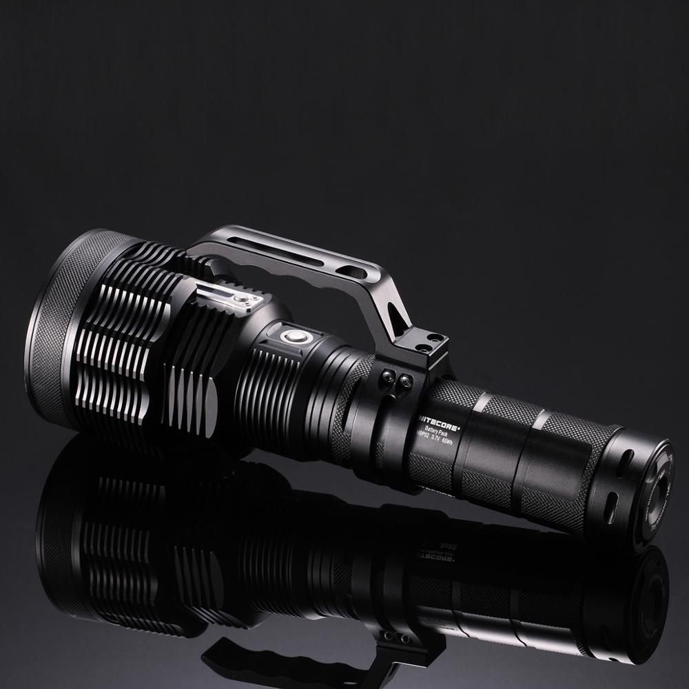 NITECORE TM39 LED Flashlight LUMINUS SBT-90 GEN2 5200LM High-power Rechargeable Flashlight Beam 1500 meter with NBP68HD Battery enlarge