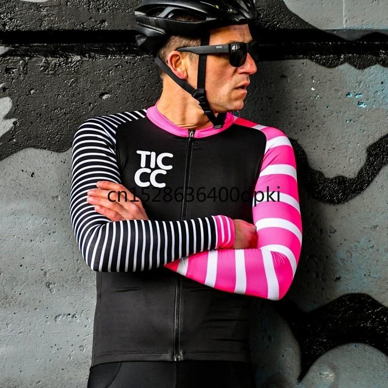 Jersey de manga larga para ciclismo para hombre, Maillot de manga larga...