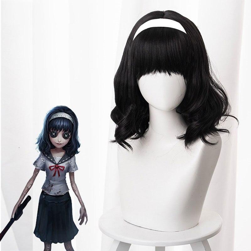 Quinta personalidade a bruxa dos sonhos kawakami fujiang crente micro-rolo sem cabelo cos peruca anime cosplay jogo feminino peruca cabelo