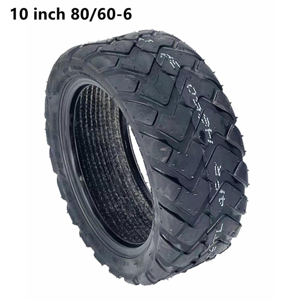 10 дюймов электрический скутер 80/60-6 шины бескамерные утолщенные вакуумные колеса резиновые E-скутеры толстые шины Запчасти Аксессуары