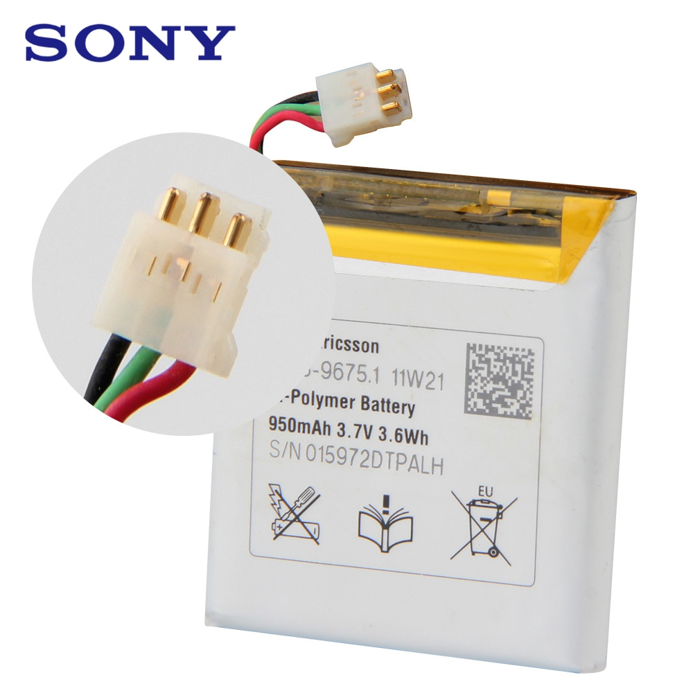 Sony Original Replacement Phone Battery X10 mini For SONY E10i X10 mini X10MINI Authentic Rechargeable Genuine Battery 950mAh enlarge