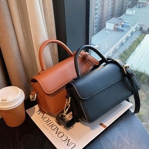 2021 Women Fashion Shoulder Messenger Handbags Soft Leather Small Square Bags Soild Color Versatile Crossbody Bags Travel Bags