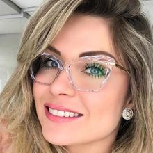Fashion Cat Eye Glasses Frames For Women Trending Styles Brand Design Optical Computer Glasses Oculos De Grau Feminino Armacao