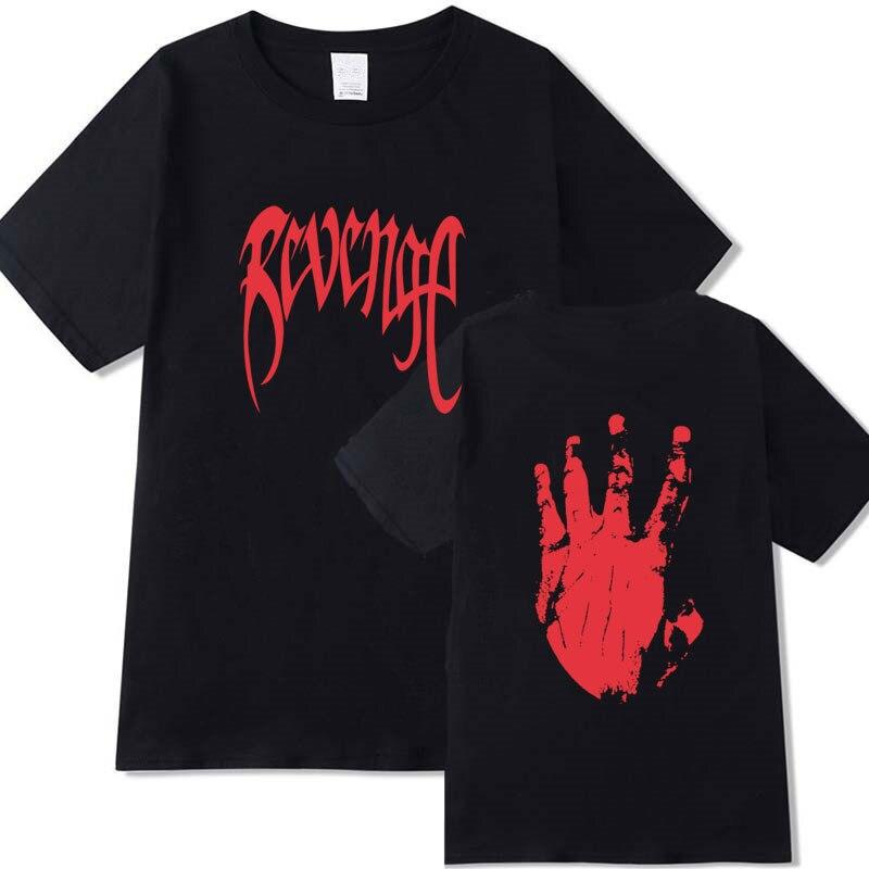 Nouveautés Xxxtentacion vengeance T-shirt hommes/femmes rappeur T-shirt camisetas hombre Streetwear Xxxtentacion T-shirt hommes