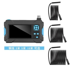 4.3 Inch LCD Monitor 2MP 1080P 8mm P2P  Take photo and Video Handheld Endoscope Inspection Camera CMOS Borescope