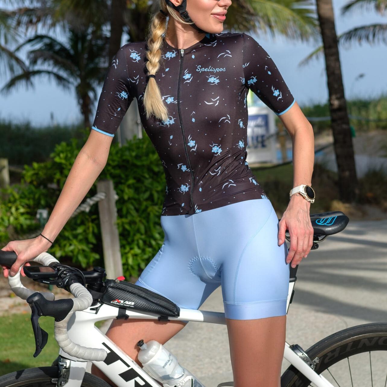 Custom Cycling Jersey Set Summer Women Bike Suit Bib Shorts Bicycle Clothing Kit Dress Mountain Bike Maillot Ciclismo Hombre Air