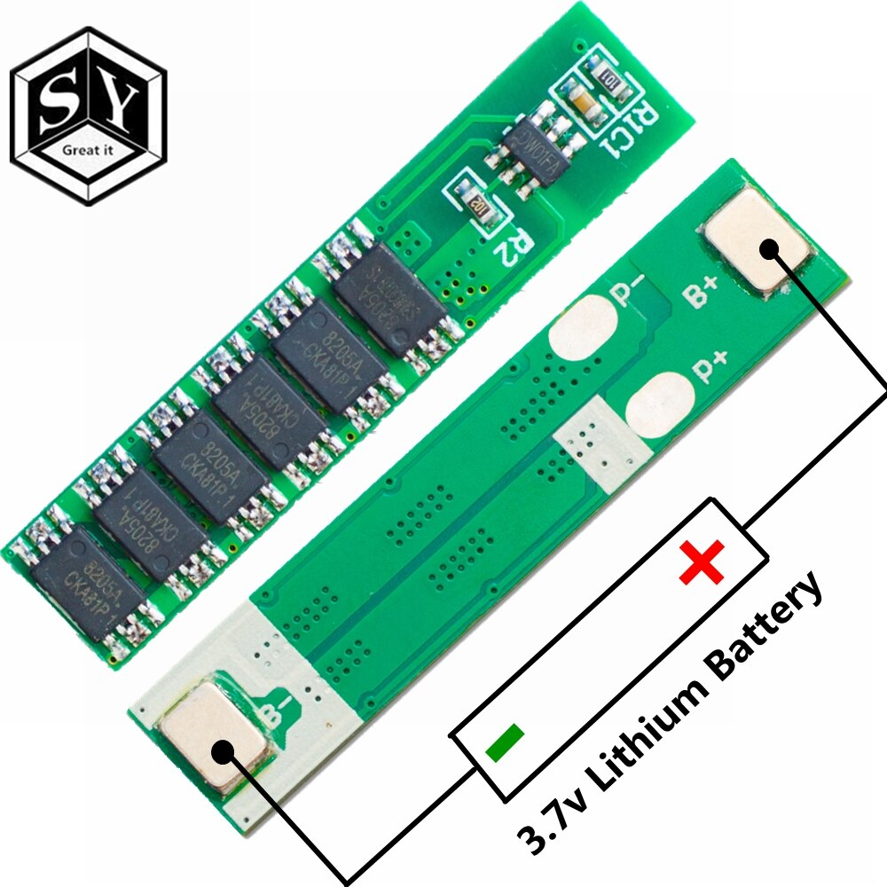 1PCS נהדר זה 1S 15A 3.7V ליתיום 3mos 4mos 6MOS BMS PCM הגנת סוללה לוח PCM עבור 18650 ליתיום האריה סוללה diy קיט