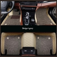 wlmwl custom leather car mat for citroen all models c4 aircross c4 picasso c6 c5 c4 c2 c elysee c triomphe auto accessories