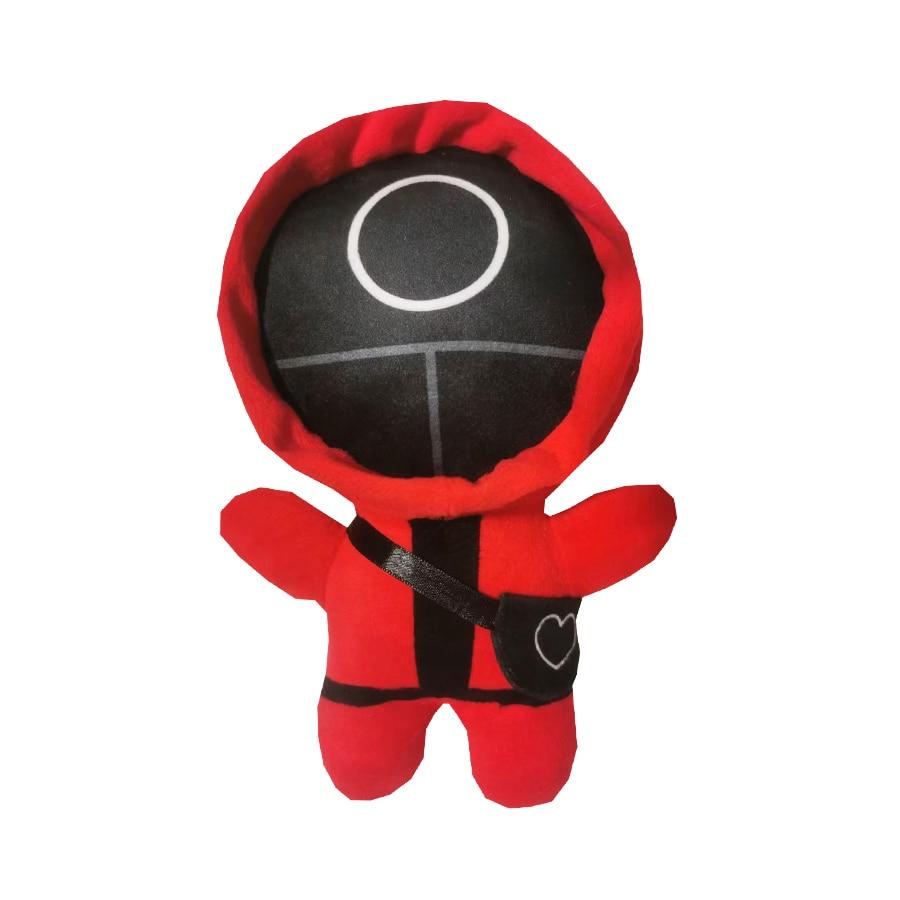 Милые плюшевые игрушки, игра кальмар, корейские ТВ-куклы, детские игрушки, рождественские украшения, подарок, кукла, подвесное украшение, до...