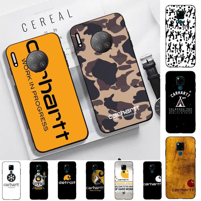 FHNBLJ marca de ropa americana Carhartt funda de teléfono para Huawei Mate 20 10 lite pro X Honor paly 6 5 7 9 prime 2018 2019