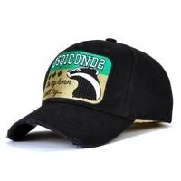 dsq brand 2021 baseball cap high quality mens and womens hats custom design icon logo hat hats mens dad hats