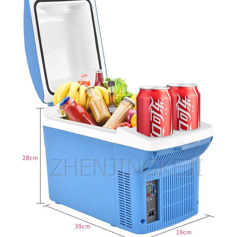 Бытовой полупроводниковый холодильник, компактный холодильник 12 В для студенческого офиса, холодильное оборудование, инструменты, бытовая...