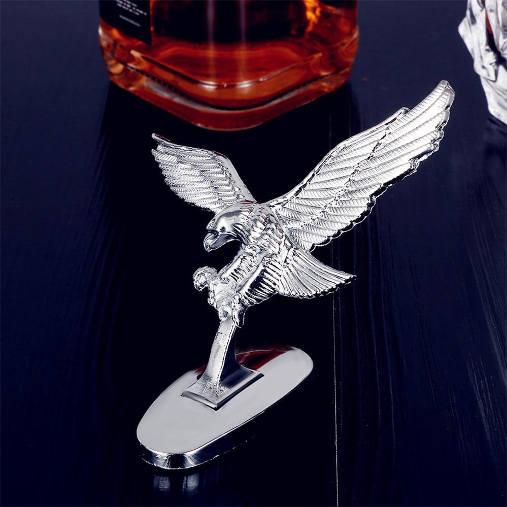 Car Front Hood Eagle Ornament Badge Auto Emblem FOR Mercedes Benz E53 C63 C43 C-Class AMG GL550 F800 A200 ML500 ML350 GL450