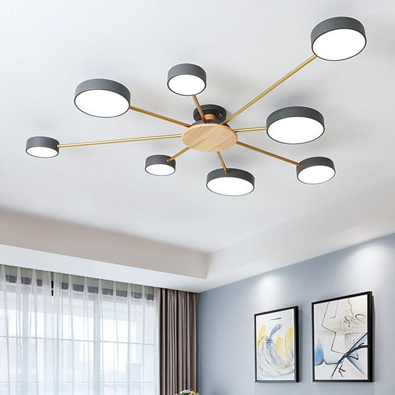Nordique lustres lustre led moderne salon décoration avizeler подвесные светильники люстра в гостинную