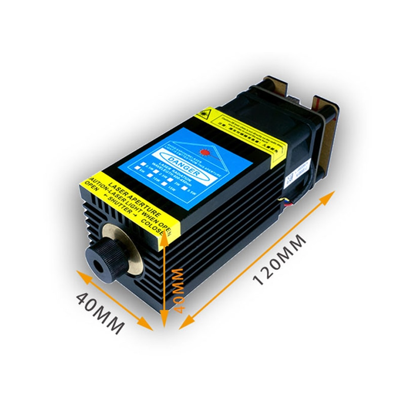2.5W 5.5W 10W 15W Laser Module DIY Engraver Laser Head 450nm Blue Lase for Laser Engraving Machine Wood Marking Cutting Tool enlarge