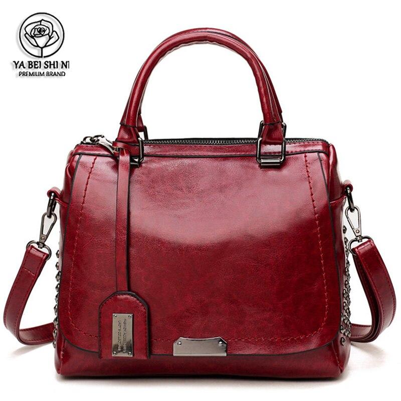 Высокое качество женские сумки для женщин 2021 Бостонская сумка основная Женская
