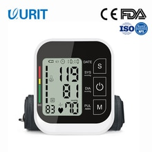Blood Pressure Monitor Medical Upper Arm Pulse Heart Rate Voice Cuff Health Care Tonometer Digital LCD Sphygmomanometer BP Meter