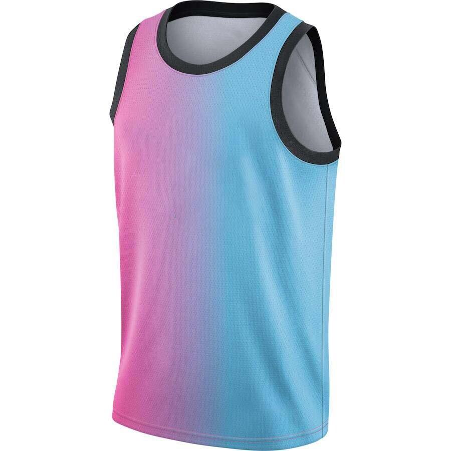 Мужские американские баскетбольные майки Майами под заказ, футболки, новинка 2021