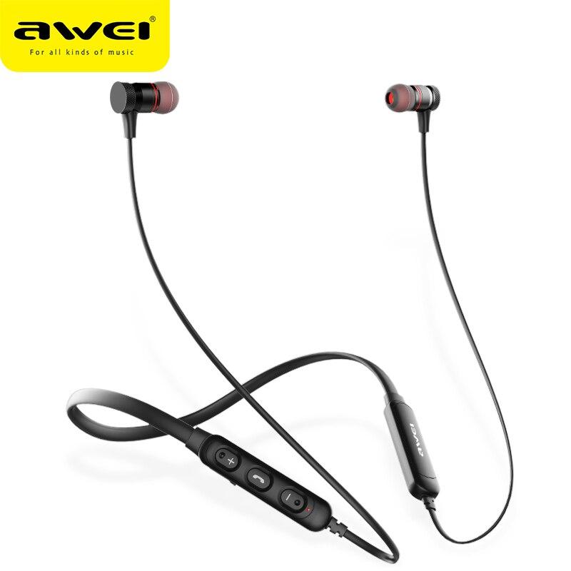 Auriculares inalámbricos con Bluetooth Wei G10BL, Auriculares deportivos estéreo 3D con micrófono, auriculares para iPhone Samsung