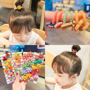 Autumn and winter babies tie their hair bands, girls' baby headbands, trumpet, do not hurt hair accessories