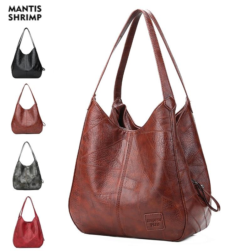 Women Bag Designers PU Leather Handbags Women Shoulder Bags Female Luxury Top-handle Bags Fashion Brand Handbag Shopping Packets