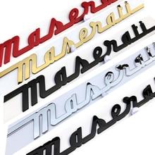 Logotipo emblema emblema ghibli oem adesivos carro emblema do emblema da placa de identificação do tronco do maserati