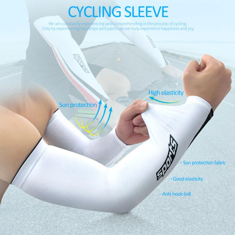 A Pair Sport Mtb Cuffs Protections Arm Warmers Breathable Sunscreen M/L/XL/XXL Men Women Cycling Sleeve Bicycle Bike Equipment