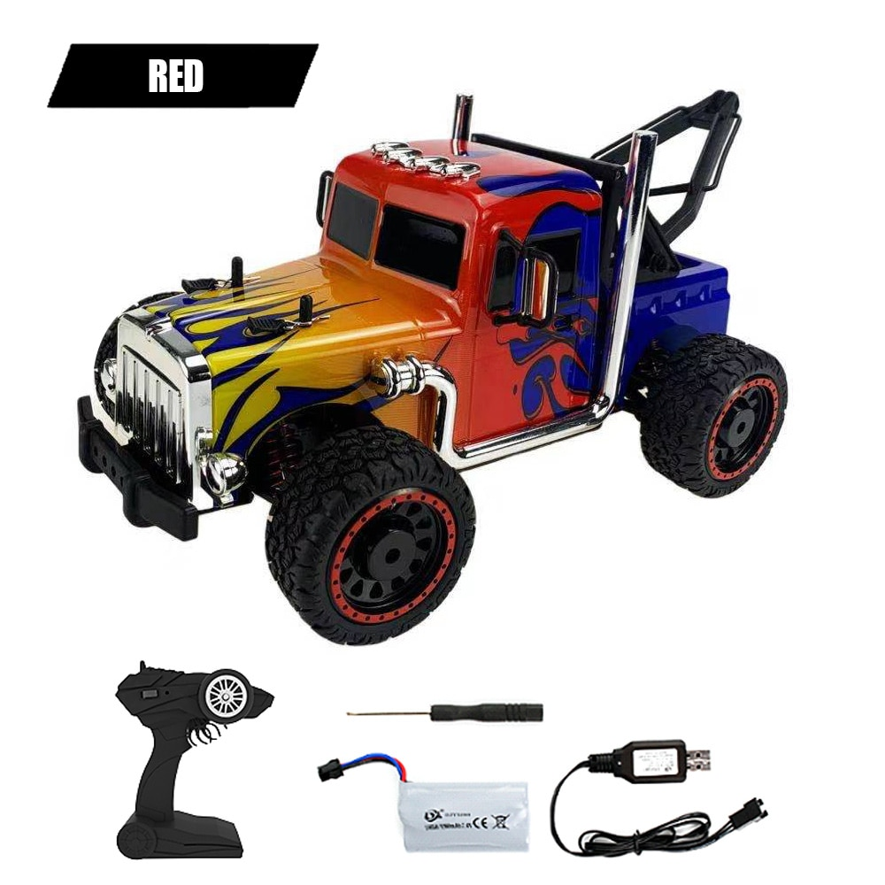 RC Car 2.4GHz 4WD Off Road Buggy Radio Control 1:16 Ratio Racing RC Drift Car High Speed Climbing Truck Kids RTR Model Toys Gift enlarge