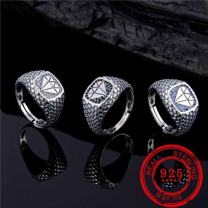 Estilo coreano jóias anel de prata esterlina 925 anel de zircão incrustado feminino presente de casamento popular prata 925 jóias anel de prata