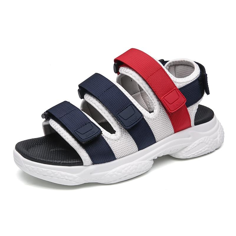 Sandalias sandalias sandália esporte masculino slide moda masculino gladiador de esportes para camelo água 2020 homens borracha hombre