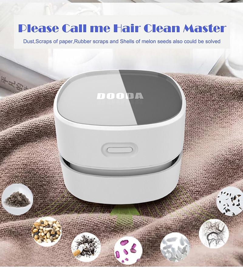 Миниатюрный пылесос для офисного стола, инструмент для удаления пыли, Домашний Настольный пылесос для машины, домашний компьютер, уборочна...