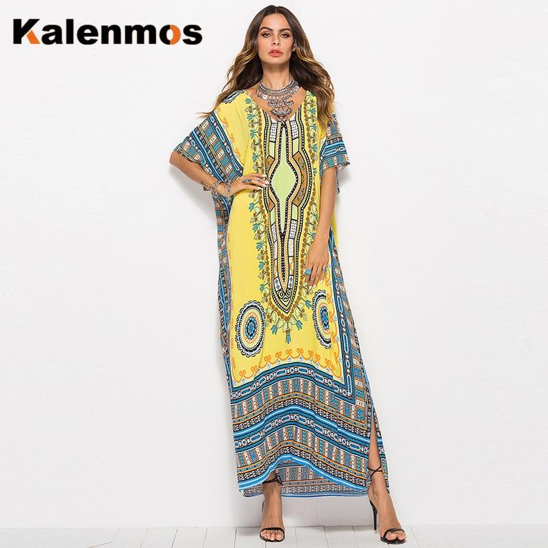 Dress Women Moroccan Turkish India Muslim Ribbon Ethnic Maxi Long Vestidos Gown Dubai Islamic Party Elegant Kaftan Abaya Femme